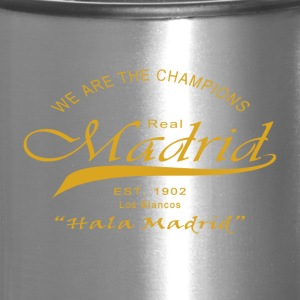 Madrid, We Are The Champions - Travel Mug