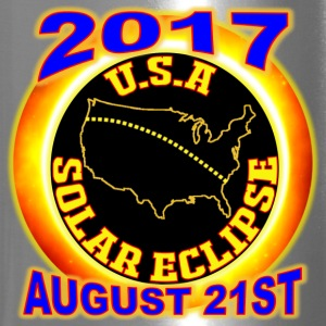 2017 USA Total Solar Eclipse Star Gaze August 21st - Travel Mug