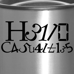 Hello Casualties Leet - Travel Mug