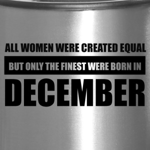 All women were created equal December designs - Travel Mug
