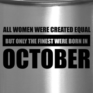 All women were created equal October designs - Travel Mug