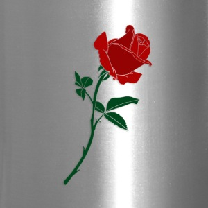 red rose - Travel Mug