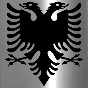 Albanian Eagle design - Travel Mug