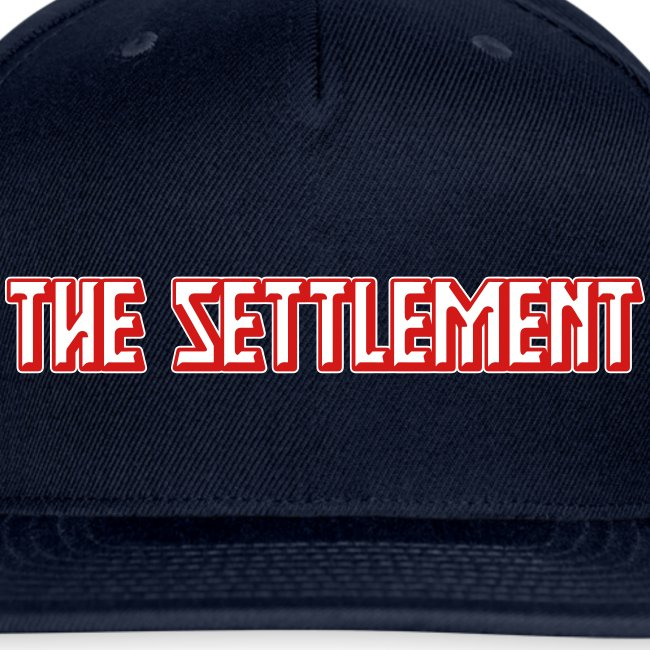 Band Name (Two-Color)   The Settlement