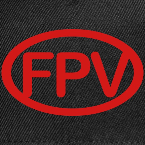 FPVcirclered - Snap-back Baseball Cap