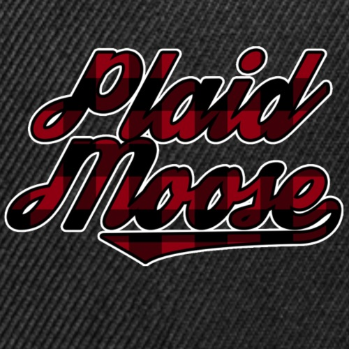 PlaidMoose Logo - Snap-back Baseball Cap