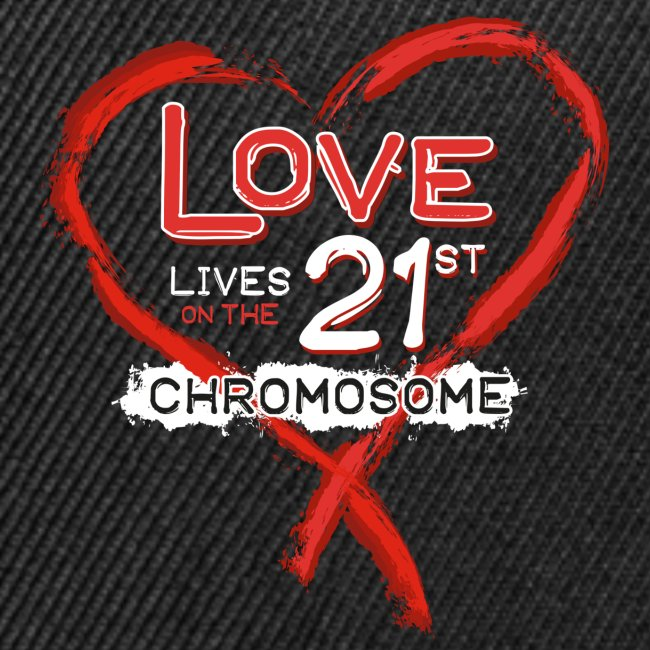 Down Syndrome Love (Red/White)