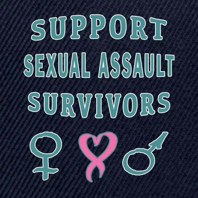 Support Sexual Assault Survivors Awareness Month.