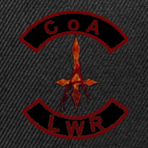 CoA/ LWR cuts - Snap-back Baseball Cap