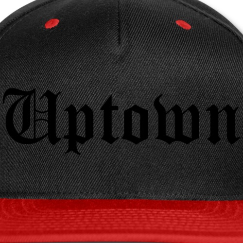 WeAllWeGotUPTOWN2_black - Snap-back Baseball Cap