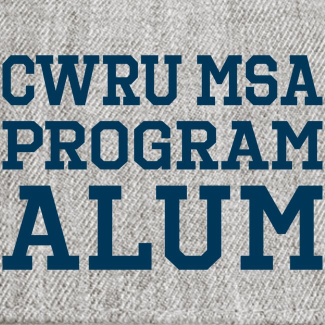 CWRU MSA Program Alum