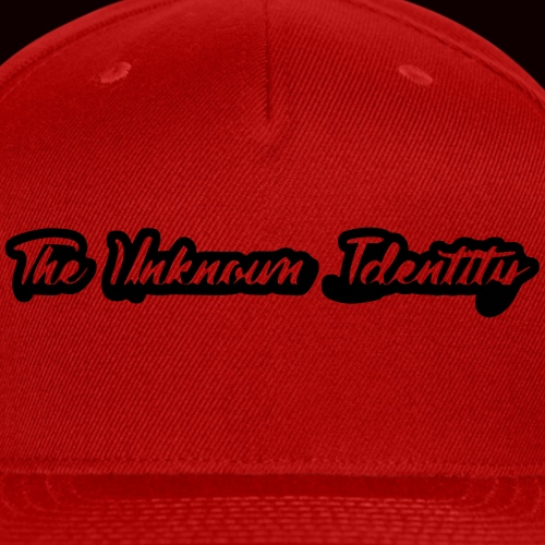 The Unknown Identity Headwear - Snap-back Baseball Cap