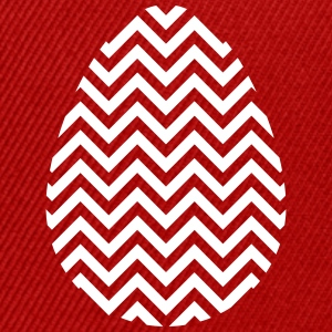 Easter Egg Chevron White - Snap-back Baseball Cap