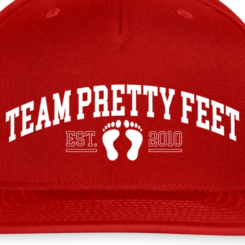 Team Pretty Feet™ Universi-TEE - Snapback Baseball Cap