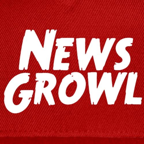 News Growl Logo - Snap-back Baseball Cap
