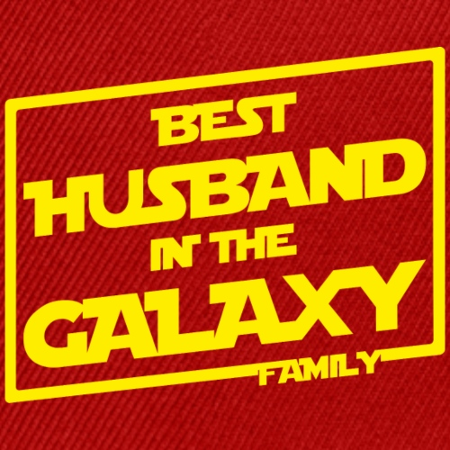 Best Husband In The Galaxy - Snap-back Baseball Cap