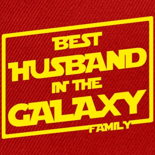 Best Husband In The Galaxy - Snapback Baseball Cap
