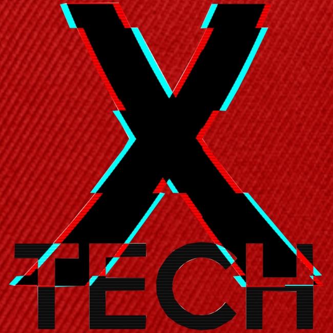 X-Tech Logo - Black