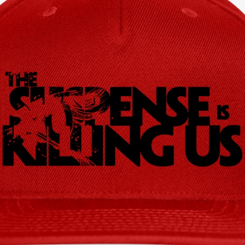 Suspense Is Killing Us Logo Black - Snap-back Baseball Cap