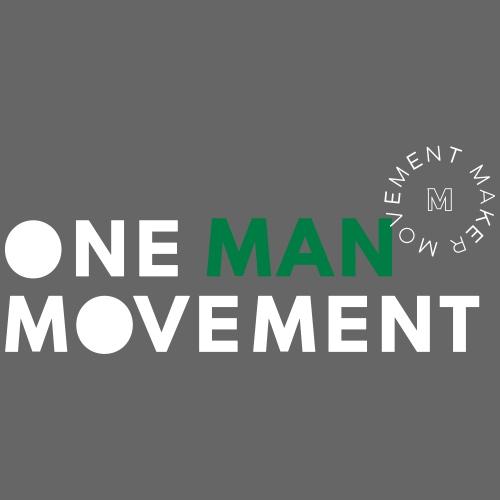 One Man Movement - Snap-back Baseball Cap