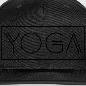 Yoga - Snap-back Baseball Cap