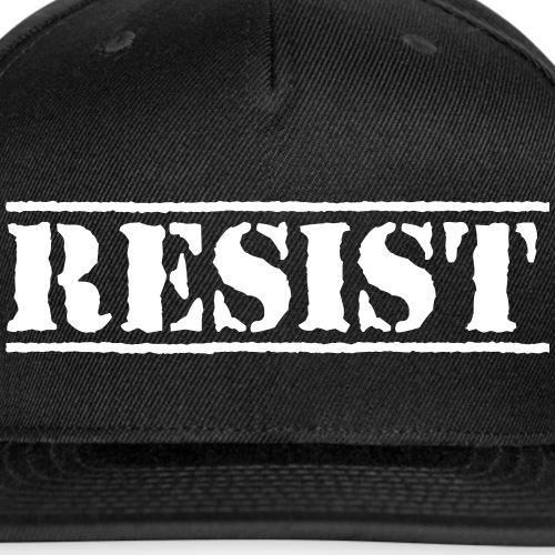 RESIST - Snap-back Baseball Cap