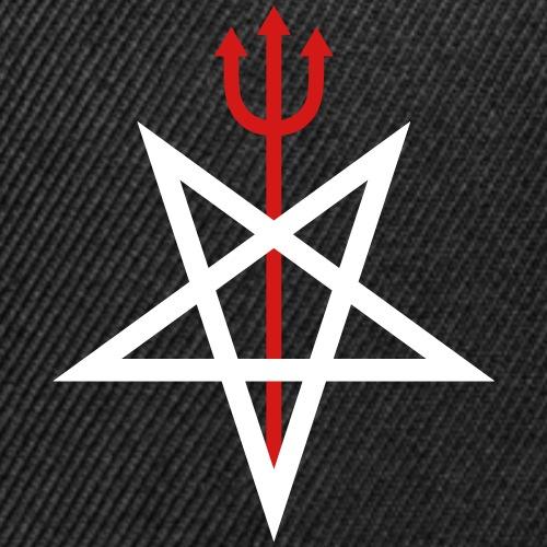 Pitchfork Pentagram - Snap-back Baseball Cap