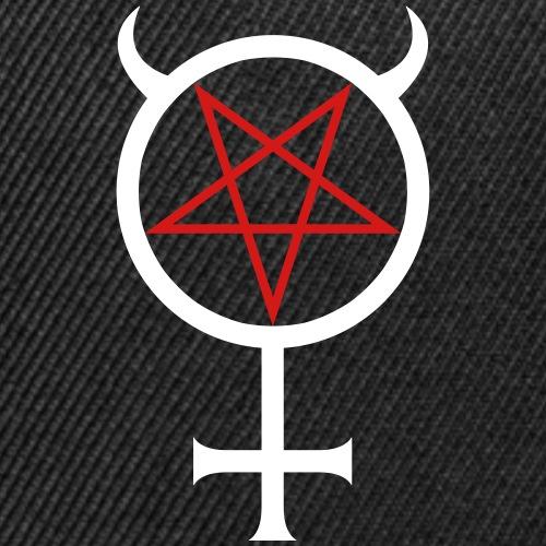 Mercury Pentagram - Snap-back Baseball Cap