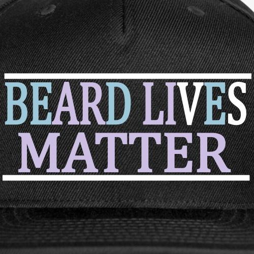 BEARD LIVES MATTER - Snap-back Baseball Cap