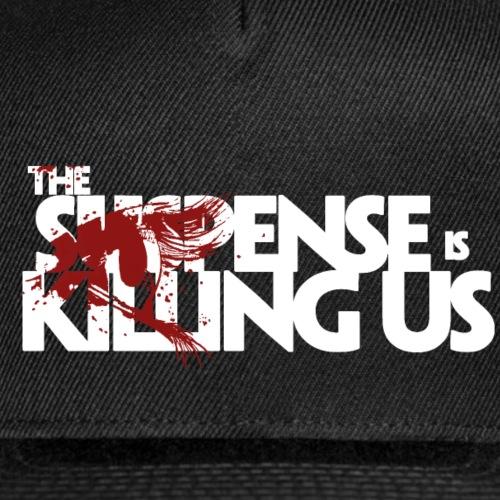 Suspense Is Killing Us Red Eye Logo - Snap-back Baseball Cap
