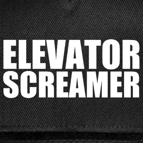Elevator Screamer - Snap-back Baseball Cap