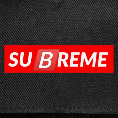 suBreme - Snap-back Baseball Cap