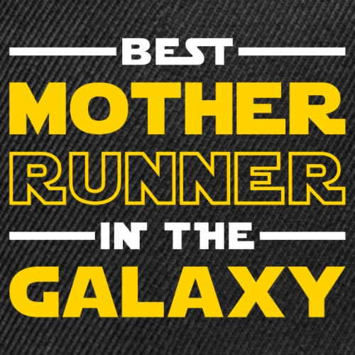 Best Mother Runner In The Galaxy - Snap-back Baseball Cap