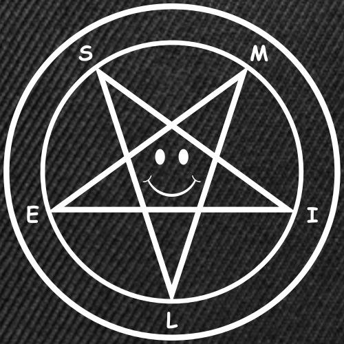 Smile Pentagram - Snap-back Baseball Cap