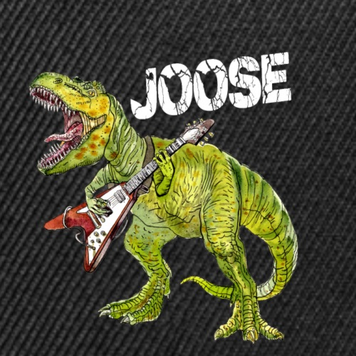JOOSE T Rex white - Snap-back Baseball Cap
