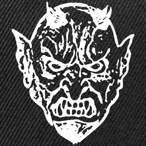Devil Face 2 - Snap-back Baseball Cap