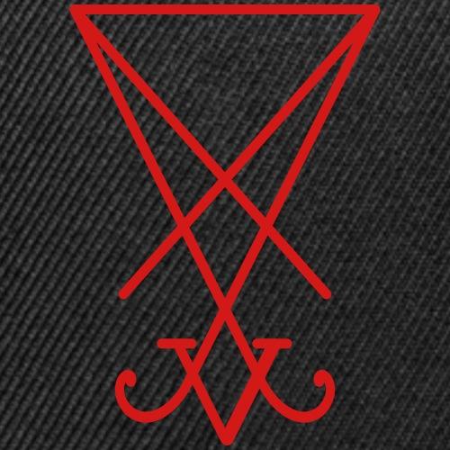 Lucifer Sigil - Snap-back Baseball Cap