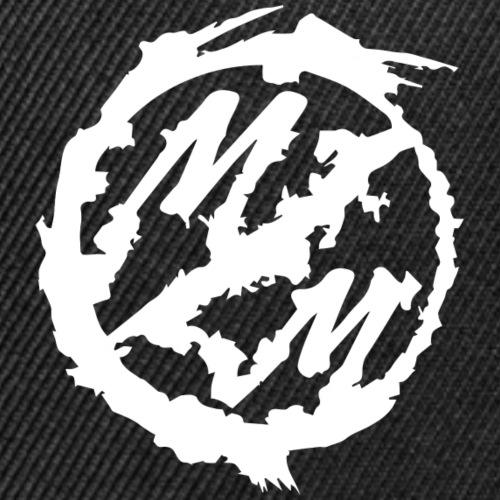 logo mm white - Snap-back Baseball Cap