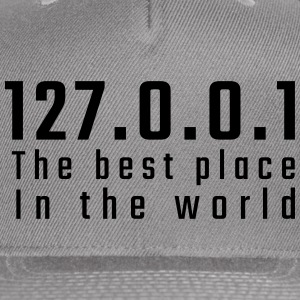 127.0.0.1 The best place in the world - Snap-back Baseball Cap