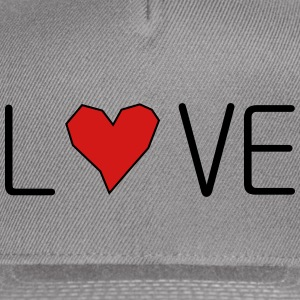 he_art_love - Snap-back Baseball Cap