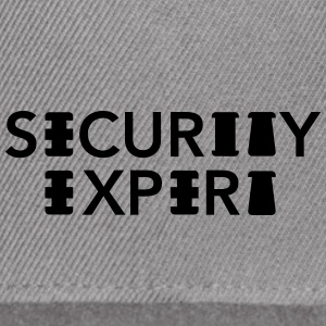 Security Expert - Snap-back Baseball Cap