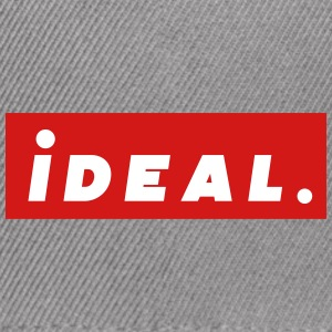 ideal Logo Red - Snap-back Baseball Cap