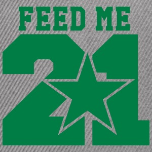 Feed Me 21 - Snap-back Baseball Cap