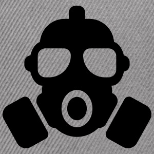 GAS MASK - Snap-back Baseball Cap