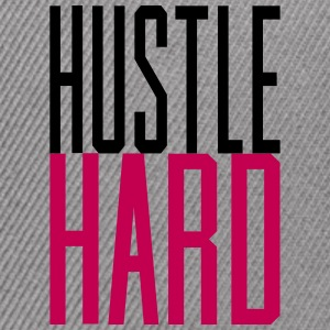Hustle Hard gangsta hustler - Snap-back Baseball Cap