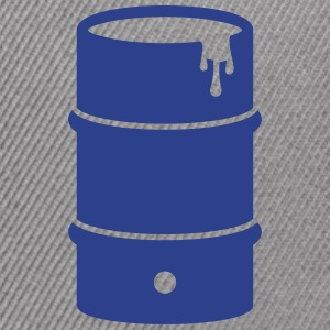 ton - rain barrel - barrel - Snap-back Baseball Cap