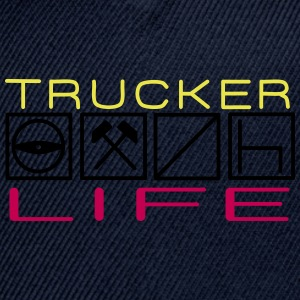 Trucker Life - Snap-back Baseball Cap