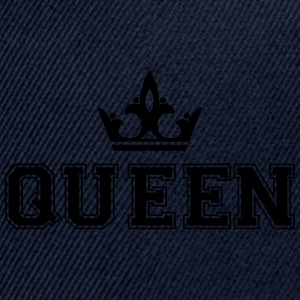 Queen_with_crown1 - Snap-back Baseball Cap
