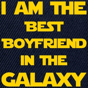 I'm the best boyfriend in the galaxy! - Snap-back Baseball Cap