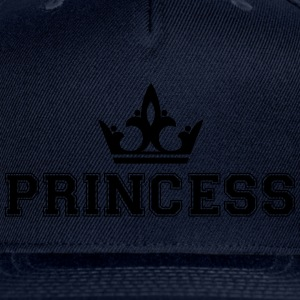 Princess_with_crown1 - Snap-back Baseball Cap